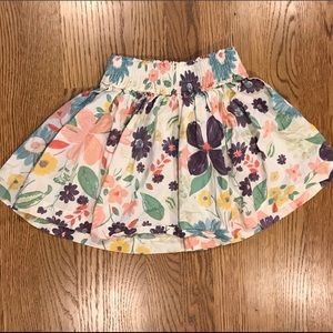 Hannah Andersson Floral Skirt